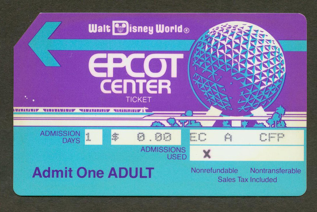 Disney World Park Ticket